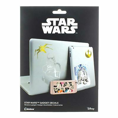 Retro Style 4 Sheets of Star Wars Vinyl Gadget Decals