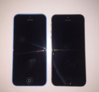 Lot iphone 5C and 5S for Parts. CLEAN GSM. Good Condition, Ships Today!