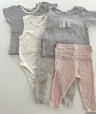 PURE BABY Girls Bundle | Size 00 | Tops, leggings | Excellent condition