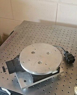 Aerotech Ars 304.5 Motorized Rotary Positioning Stage For Laser Photonics Lab