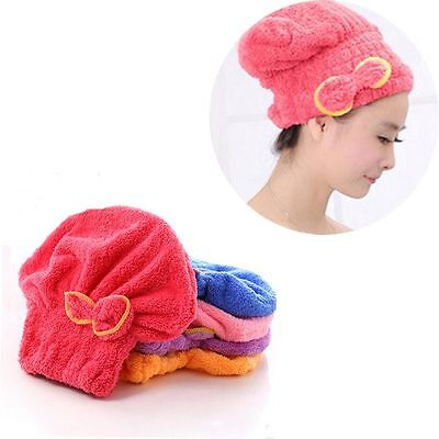 Elastic Band Wash Tool Wrapped Towel Bathing Shower Cap Dry Hair Hats