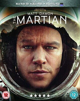 The Martian [Blu-ray] [2015] - DVD  LEVG The Cheap Fast Free Post