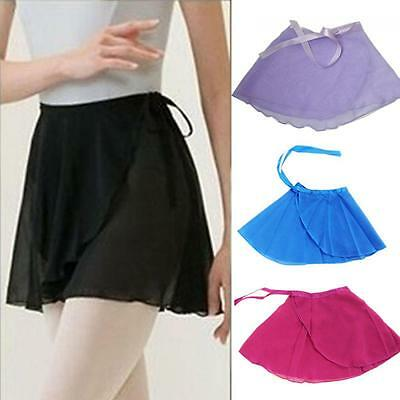 Wrap Clothing Ballet Dance Dress Tutu Skirt Chiffon