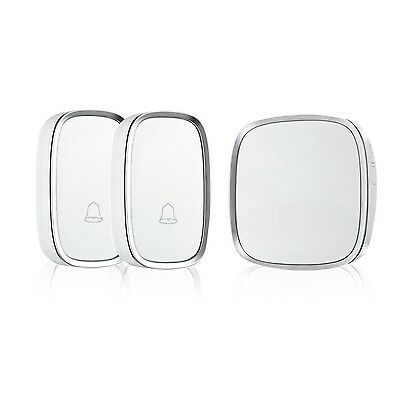 Refoss Smart Wireless Doorbell with 2 Remote Buttons Transmitters (Batteries ...