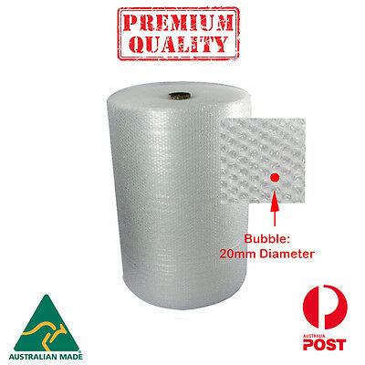 Bubble Wrap  New 750mm X 100m 20mm Bubble premium Quality- Australia Made
