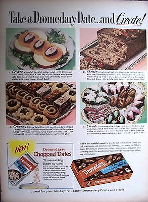1959 Dromedary Dates Cookies Bread Confections Fruit Cake Ad