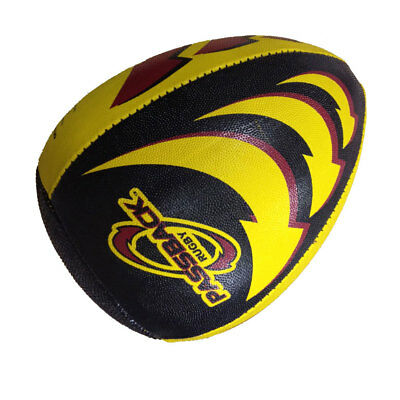 PASSBACK rugby trainer ball [yellow]