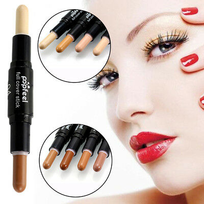 POPFEEL Double-ended Long-lasting Concealer Brozer and HighlighterPencil GZ