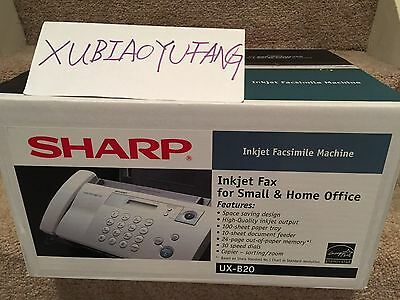 New Sealed Box Sharp UX-B20 InkJet Facsimile Fax Machine / Copier / Phone