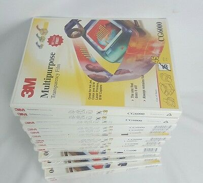 New Sealed - 3M Multipurpose Ink and Laser Transparency Film CG6000 [15]