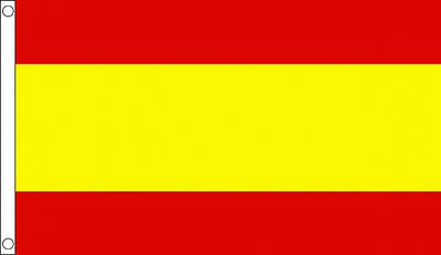 SPAIN FLAG No Crest 5' x 3' Spanish Europe European Flags