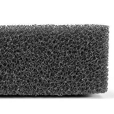 Black Foam Pond Fish Tank Aquarium Sponge Biochemical Filter Filtration Pad New