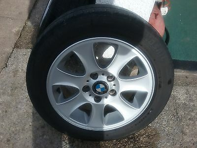 Bmw 16 Inch  1 Series Alloy Wheels And Tyres
