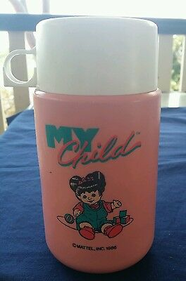 Rare Original Mattel My Child Doll Thermos Travel Flask