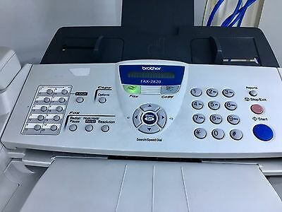 Brother Fax-2820 Laser Fax / Copy / Phone / Speed Dial
