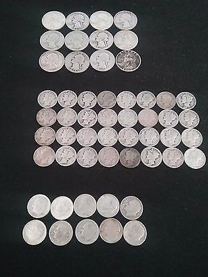 Lot of 54  90% Silver Coins
