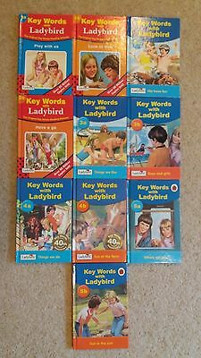 10 Ladybird Key Words Peter and Jane books