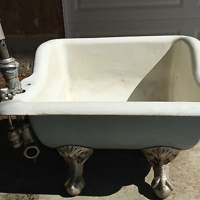 Antique Cast Iron Sitz Bath