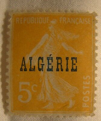 Algeria Stamp 1924 Scott 5 A22a  Unused Overprint