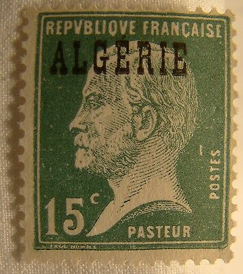 Algeria Stamp 1924 Scott 10 A22a  Unused Overprint