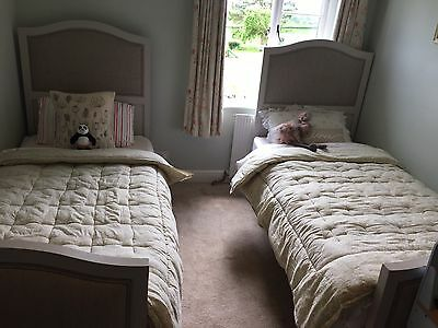 French Style Pair Of Matching Beds