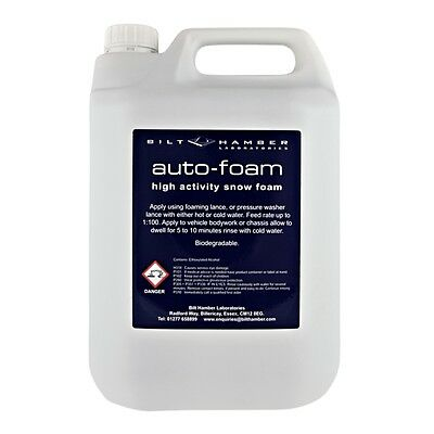 Bilt-Hamber Auto-Foam - 5 Litre - High Activity Snow Foam