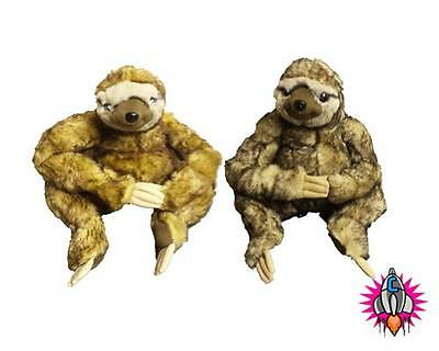 New 3 Toed Neal Sloth 25 Cm Plush Soft Toys Toy Cream Or Caramel