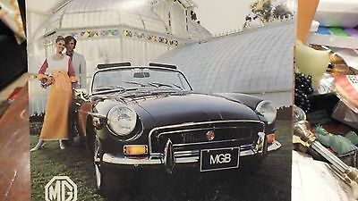 1971 MG MGB Car Sales Brochure