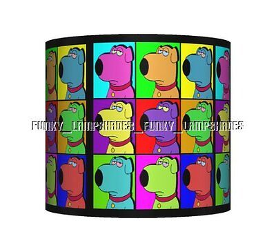 Brian - Family Guy ☆ Ceiling Lampshade ☆ Boys Bedroom Lamp Shade ☆ Matches Duvet