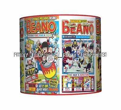 The Beano Comic Book Ceiling Lampshade ☆ Boys Bedroom Lamp Shade ☆ Matches Duvet