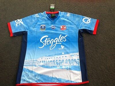 Sydney Roosters 2017 NRL Auckland 9s Nines Jersey size xl