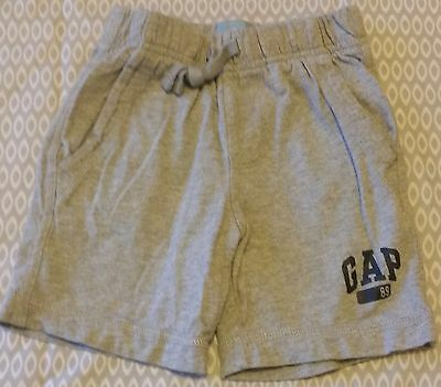 Baby Gap grey shorts baby size 18-24 month
