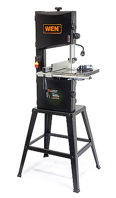 WEN 3962 Two-Speed Band Saw with Stand and Worklight, 10""