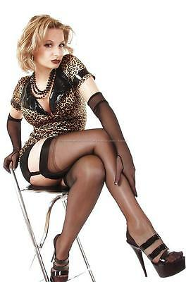 Mature Leggy Wife Busty Big Boobs Pinup Girl Butt Stockings 4x6 Photo 1924