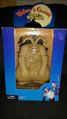 Mcfarlane Toys Wallace & Gromit THE CURSE OF THE WERE RABBIT- figure (NEW)