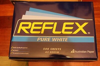 reflex a3 paper ream 500 sheets 80gsm (SYD Local pickup only)