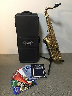 Tenor Saxophone Keilworth ST 90 with Selmer S80 mouthpiece and accessories