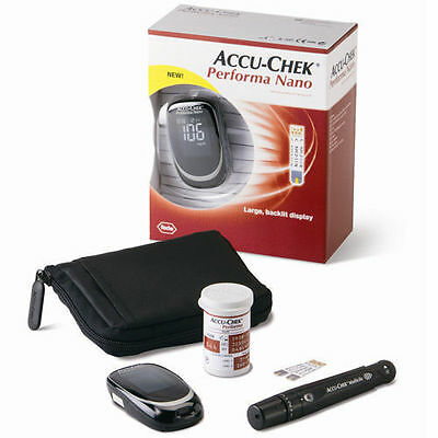 Accu Chek Performa Nano Glucometer With 100TestStrips
