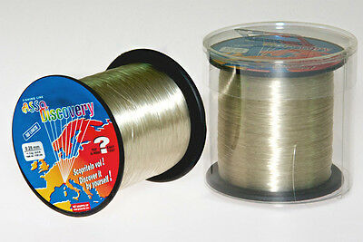 Asso Discovery Coated Fluorocarbon Fishing Line 1000 m Spools Sizes Pike New