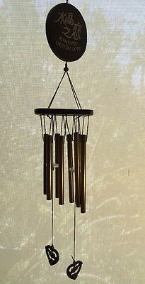 Hippy Metal Wind Chime Outdoor Garden Hanging Charm Decor Love Ornament