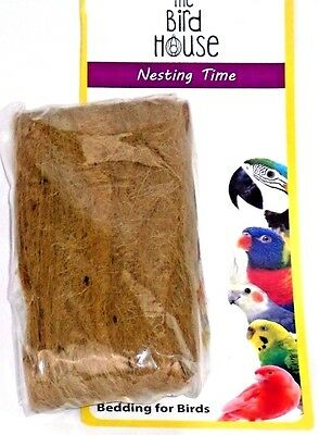 Small Caged Bird Nesting Bedding Material Budgie, Finch, Canary, Cockateil