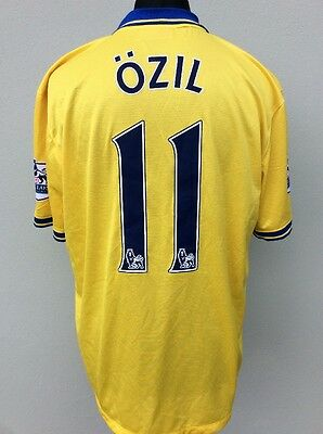 Nike,arsenal Away Shirt 2013/2014,#11 Ozil,size Xl