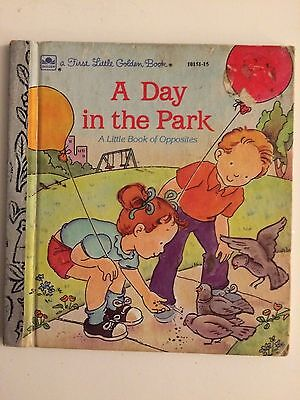 A DAY IN THE PARK Eugenie - Children's First Little Golden Book