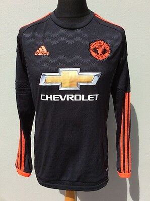Adidas, Manchester United Third Away Shirt,season 2015/2016, Medium