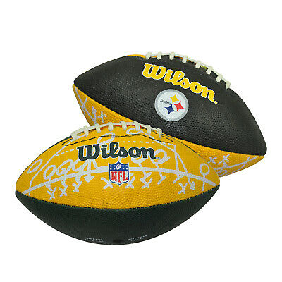 Wilson Nfl Mini Team Football - Black/yellow Or Yellow/green