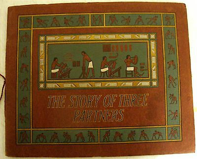 "Advertising United Shoe Machinery Company Booklet ""The Story of 3 Partners"""