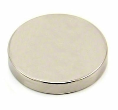 N50 25mm x 5mm Strong Round Disc Magnets Rare Earth Neodymium Magnet