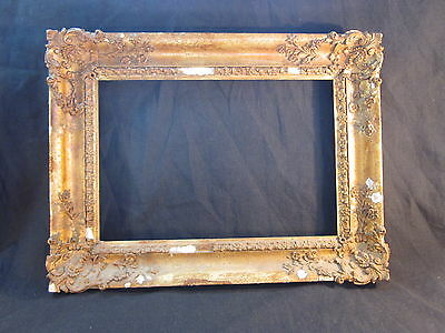 A Victorian Gilt Picture Frame