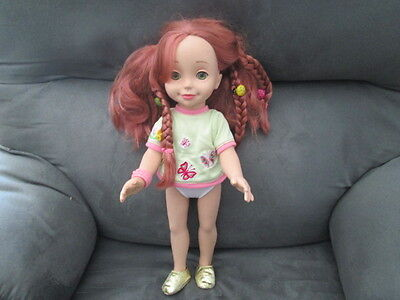 "2002 Playmates Interactive 15""  Doll Emma - Doll only, no accessories"