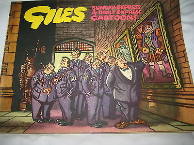 GILES ANNUAL : No 8 1955 UNCLIPPED: NICE CLEAN COPY -  FREEPOST